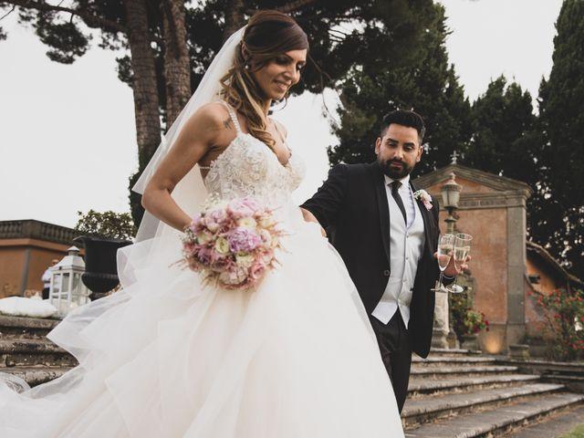 Il matrimonio di Lorenzo e Francesca a Castel Gandolfo, Roma 2