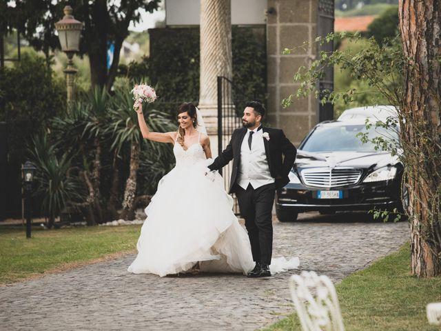 Il matrimonio di Lorenzo e Francesca a Castel Gandolfo, Roma 24
