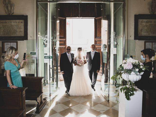 Il matrimonio di Lorenzo e Francesca a Castel Gandolfo, Roma 32