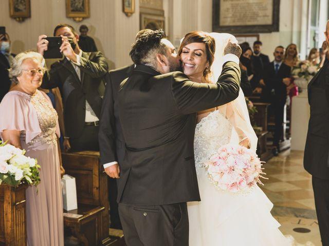 Il matrimonio di Lorenzo e Francesca a Castel Gandolfo, Roma 33