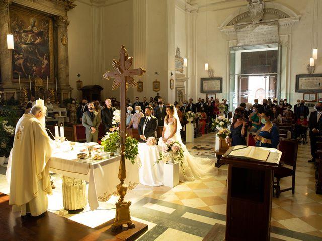 Il matrimonio di Lorenzo e Francesca a Castel Gandolfo, Roma 34