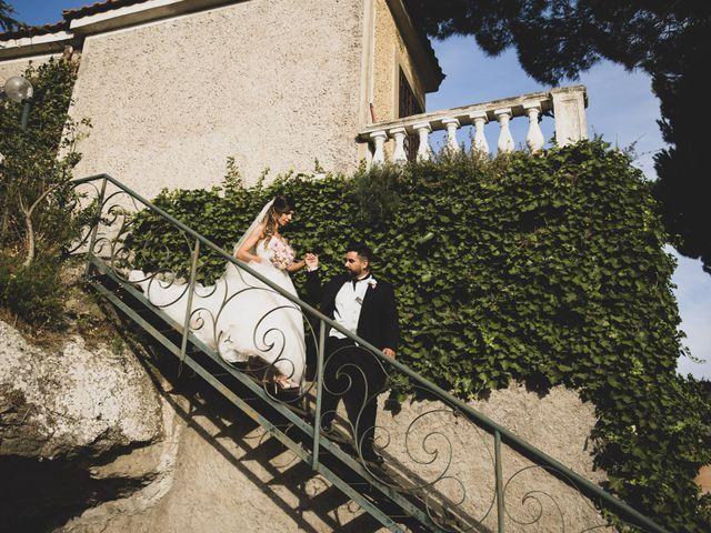 Il matrimonio di Lorenzo e Francesca a Castel Gandolfo, Roma 37