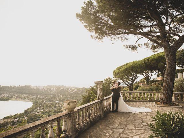Il matrimonio di Lorenzo e Francesca a Castel Gandolfo, Roma 38