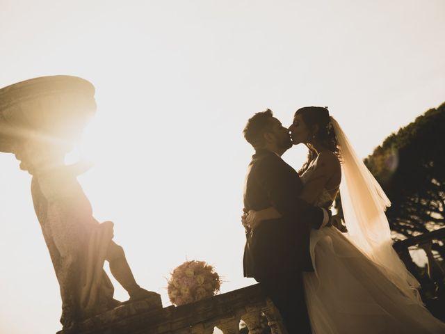 Il matrimonio di Lorenzo e Francesca a Castel Gandolfo, Roma 41