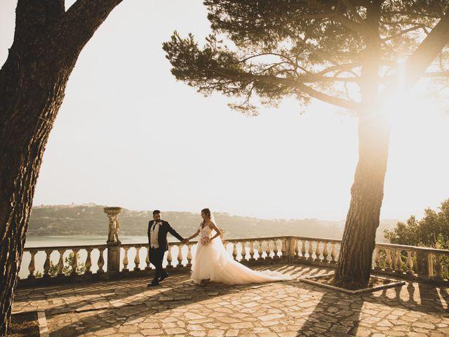 Il matrimonio di Lorenzo e Francesca a Castel Gandolfo, Roma 43