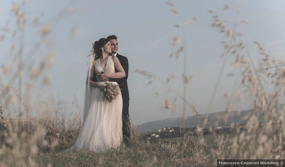 Il matrimonio di Romano e Virginia a Jesi, Ancona