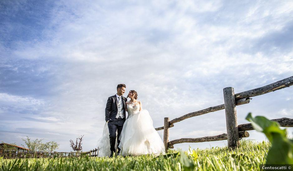 Il matrimonio di Andrea e Monica a Sant'Ambrogio di Torino, Torino