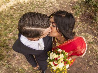 Le nozze di Giuliano e Kavitha