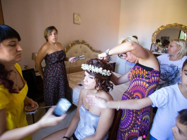 Il matrimonio di Nello e Elena a Pienza, Siena 1