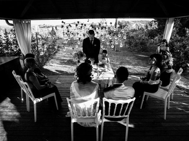 Il matrimonio di Nello e Elena a Pienza, Siena 7