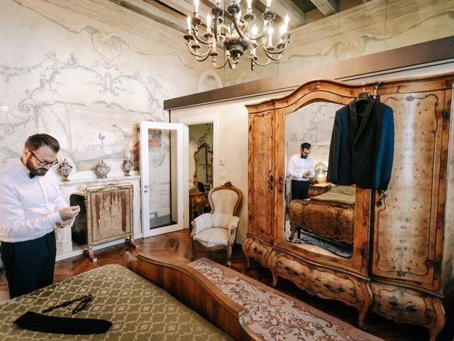Il matrimonio di Elena e Vittorio a Bevilacqua, Verona 2