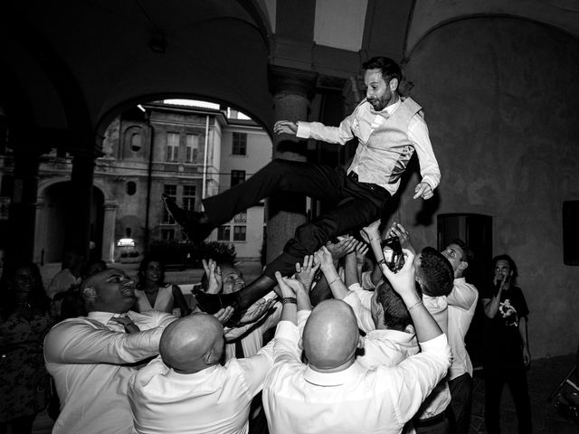 Il matrimonio di Romina e Marco a Gazzada Schianno, Varese 10