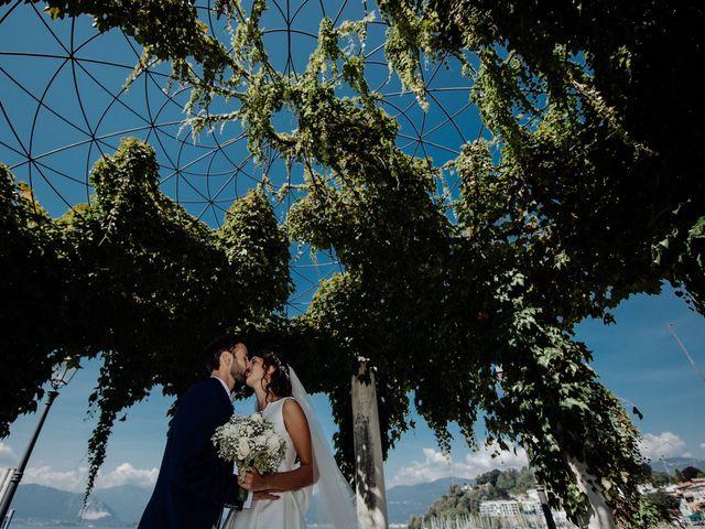 Il matrimonio di Romina e Marco a Gazzada Schianno, Varese 16