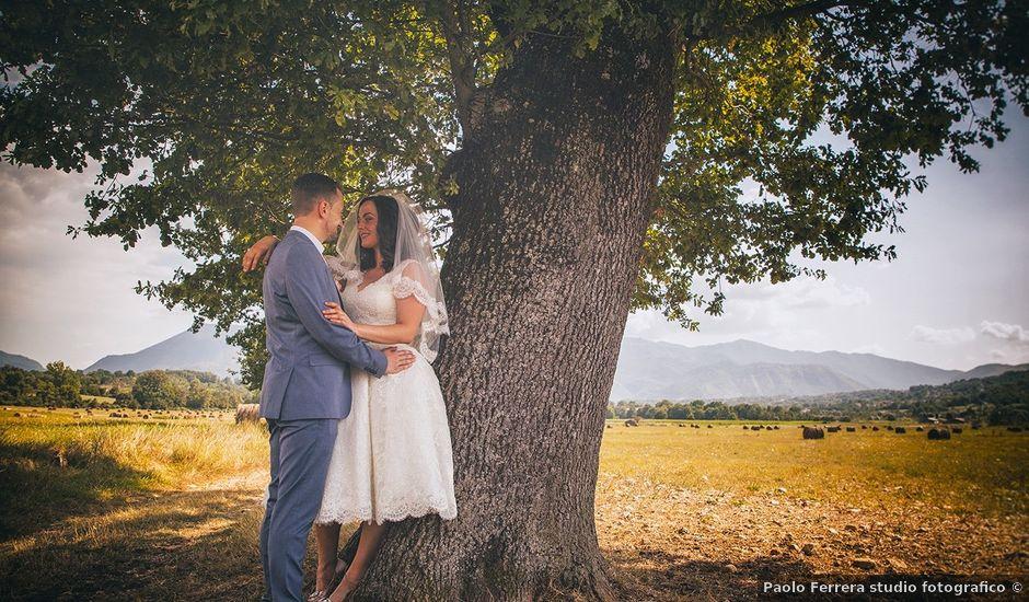 Il matrimonio di David e Stefania a Alvito, Frosinone