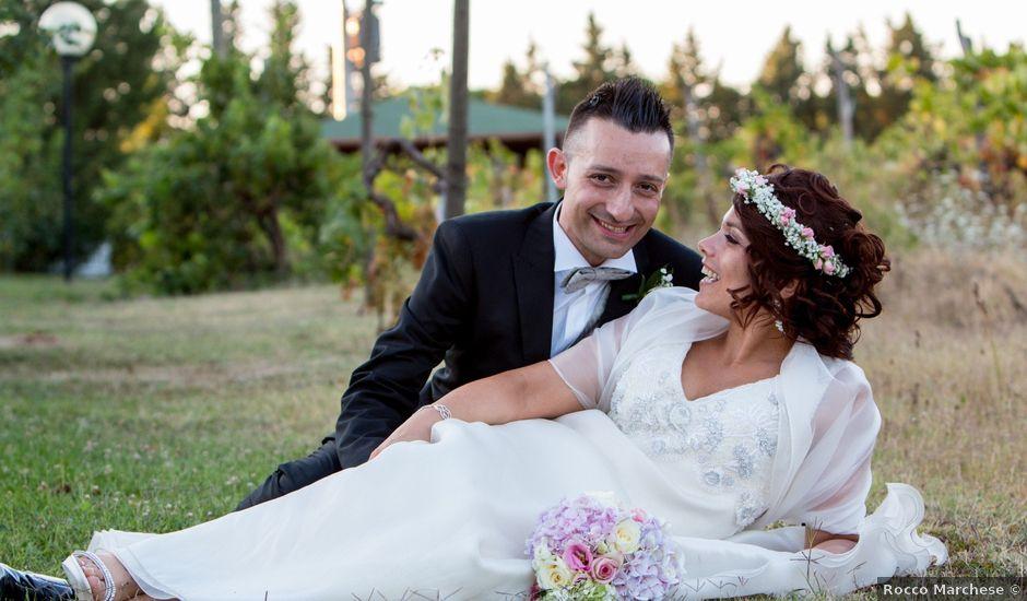 Il matrimonio di Nello e Elena a Pienza, Siena