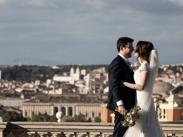 Il matrimonio di Federico e Gabriella a Roma, Roma 1