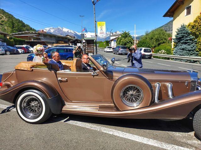Il matrimonio di Federico  e Michela  a Aosta, Aosta 35