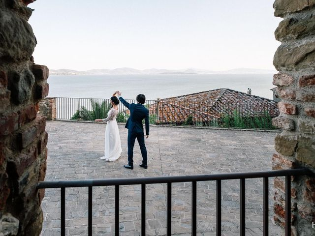 Il matrimonio di Guglielmo e Martina a Passignano sul Trasimeno, Perugia 4
