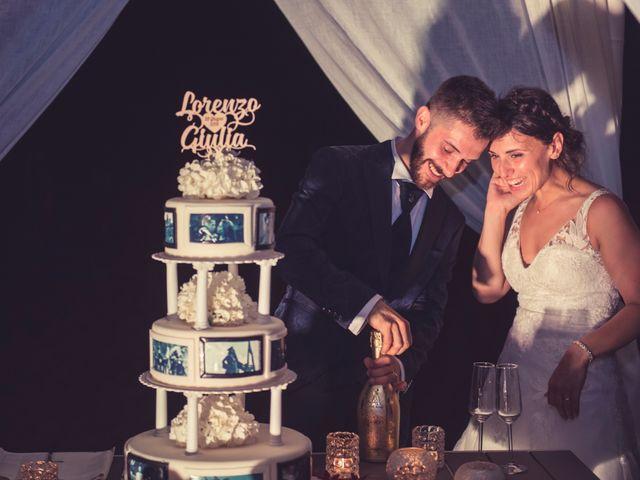 Il matrimonio di Lorenzo e Giulia a Viareggio, Lucca 65
