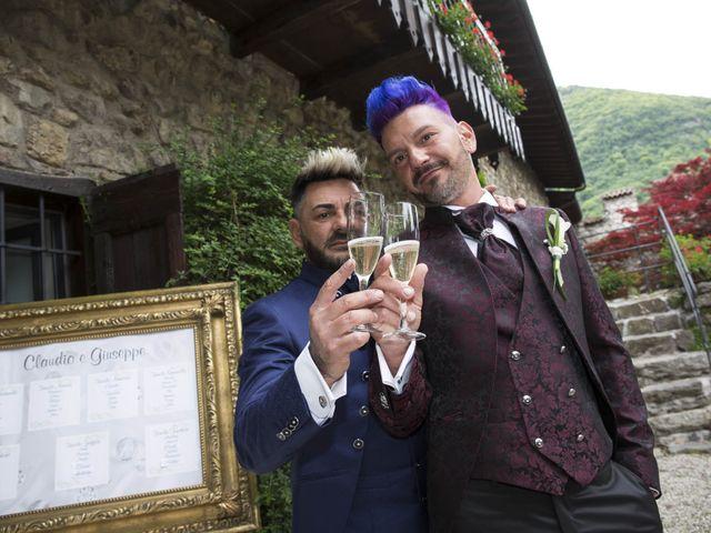 Il matrimonio di Giuseppe e Claudio a Monasterolo del Castello, Bergamo 13