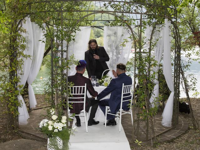 Il matrimonio di Giuseppe e Claudio a Monasterolo del Castello, Bergamo 18