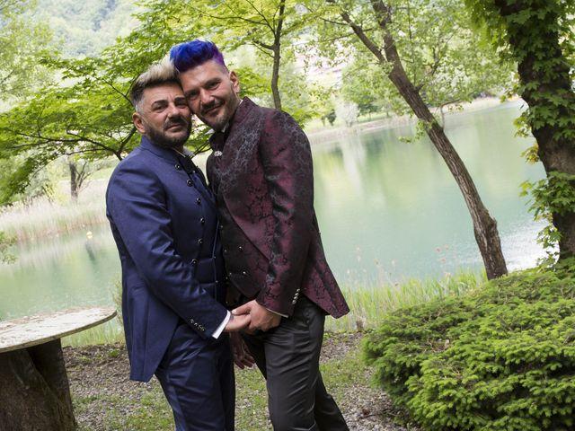 Il matrimonio di Giuseppe e Claudio a Monasterolo del Castello, Bergamo 32