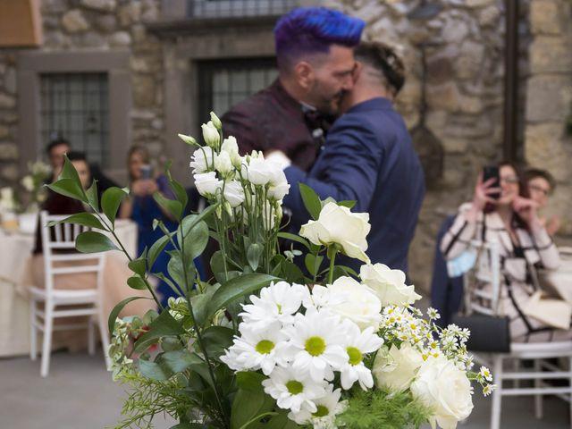 Il matrimonio di Giuseppe e Claudio a Monasterolo del Castello, Bergamo 44