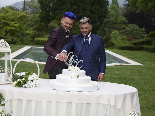 Il matrimonio di Giuseppe e Claudio a Monasterolo del Castello, Bergamo 52