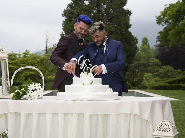 Il matrimonio di Giuseppe e Claudio a Monasterolo del Castello, Bergamo 53