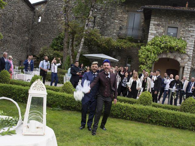 Il matrimonio di Giuseppe e Claudio a Monasterolo del Castello, Bergamo 58