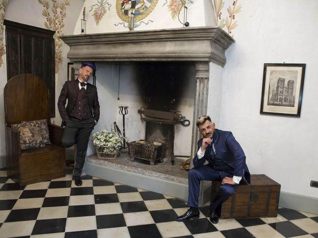 Il matrimonio di Giuseppe e Claudio a Monasterolo del Castello, Bergamo 63