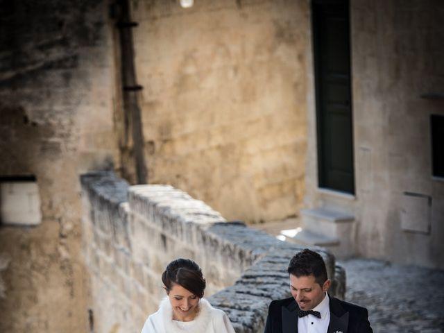 Il matrimonio di Raffaella e Domenico a Matera, Matera 16
