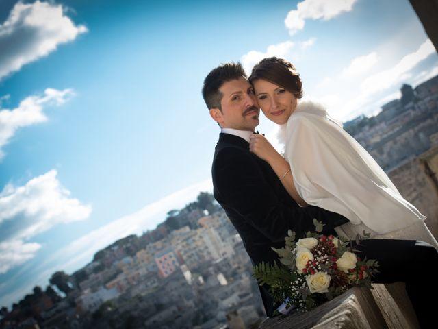 Il matrimonio di Raffaella e Domenico a Matera, Matera 17