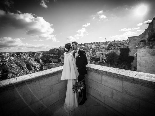 Il matrimonio di Raffaella e Domenico a Matera, Matera 20