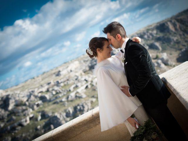 Il matrimonio di Raffaella e Domenico a Matera, Matera 21