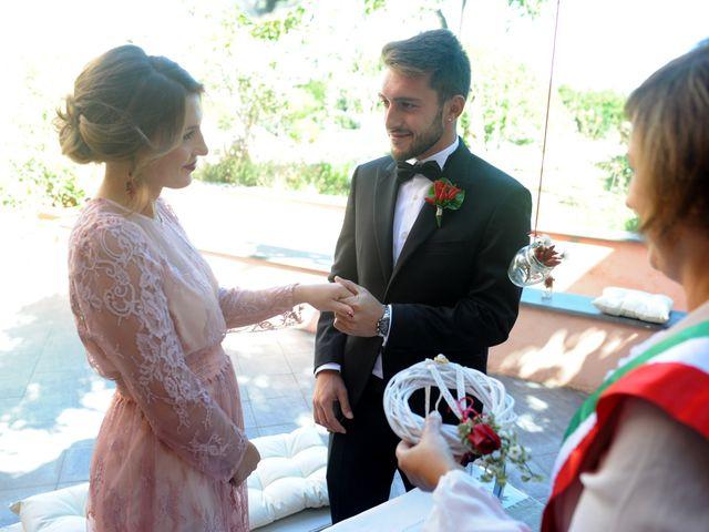 Il matrimonio di Richard e Rebecca a Procida, Napoli 56