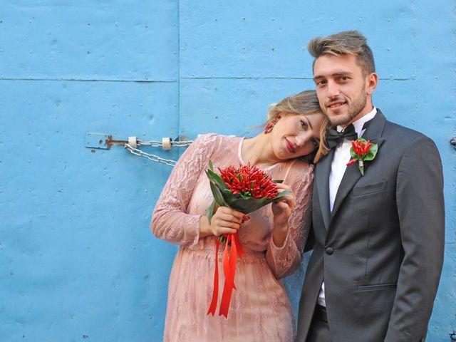 Il matrimonio di Richard e Rebecca a Procida, Napoli 64