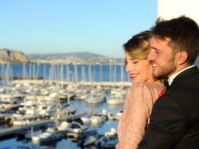 Il matrimonio di Richard e Rebecca a Procida, Napoli 78
