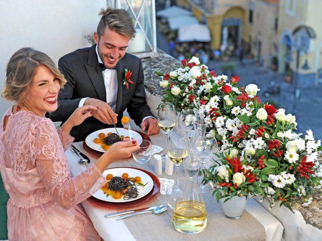 Il matrimonio di Richard e Rebecca a Procida, Napoli 79
