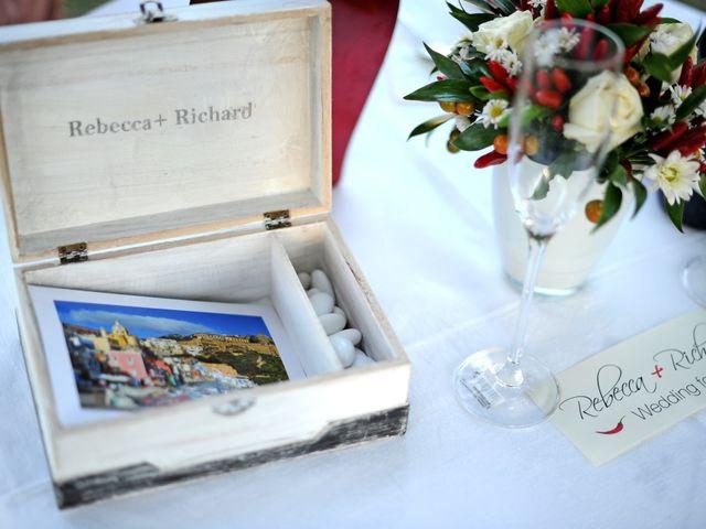 Il matrimonio di Richard e Rebecca a Procida, Napoli 82
