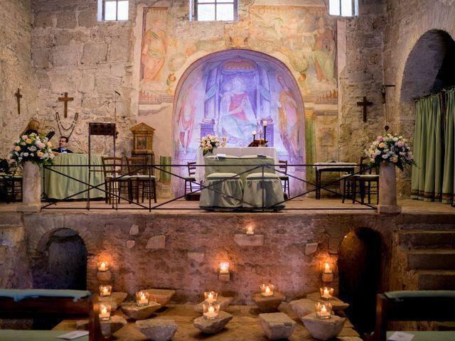 Il matrimonio di Matteo e Silvia a Bracciano, Roma 12