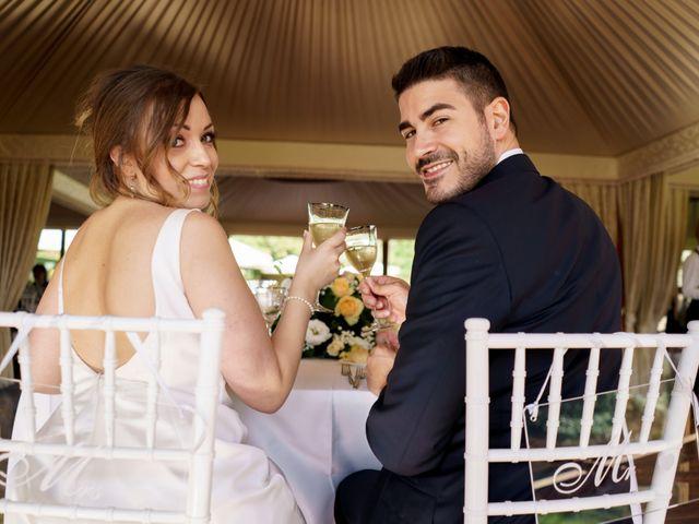 Il matrimonio di Matteo e Silvia a Bracciano, Roma 32