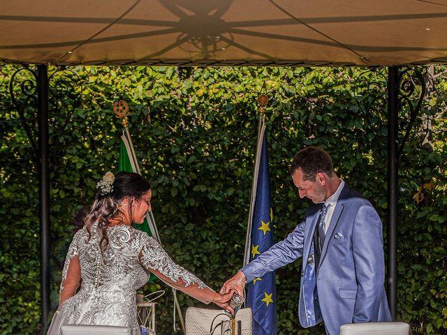 Il matrimonio di Stefano e Bassma a Caravaggio, Bergamo 39