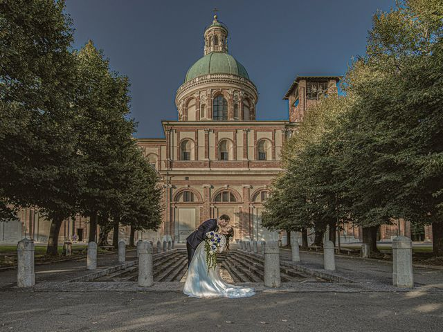 Il matrimonio di Stefano e Bassma a Caravaggio, Bergamo 49