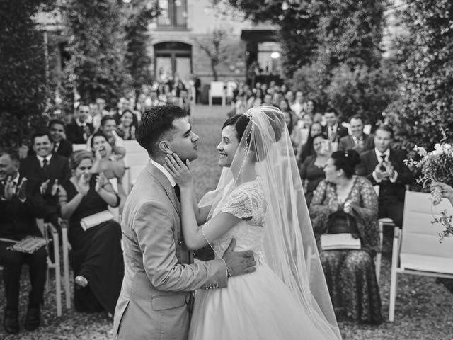 Il matrimonio di Libni e Andressa a Pontenure, Piacenza 15