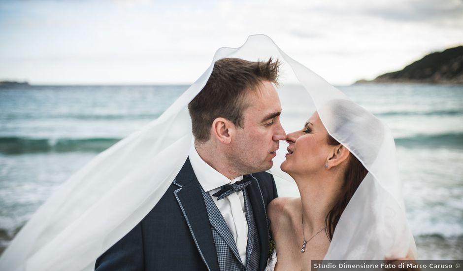 Il matrimonio di Bettina e Andreas a Villasimius, Cagliari