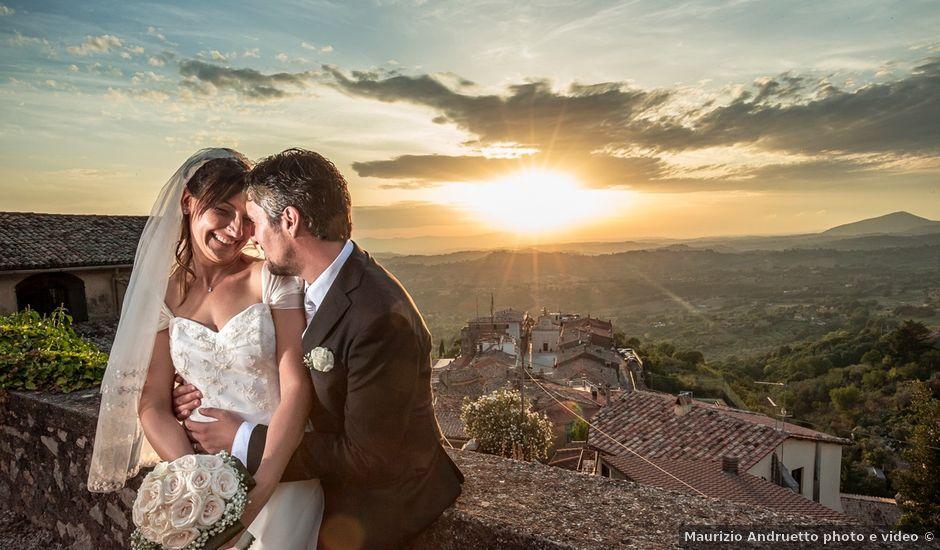 Il matrimonio di Andrea e Sara a Poggio Mirteto, Rieti