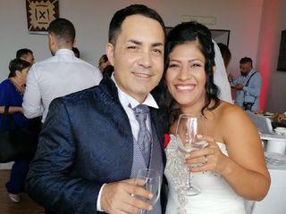 Le nozze di Luz Maria  e Gianluca