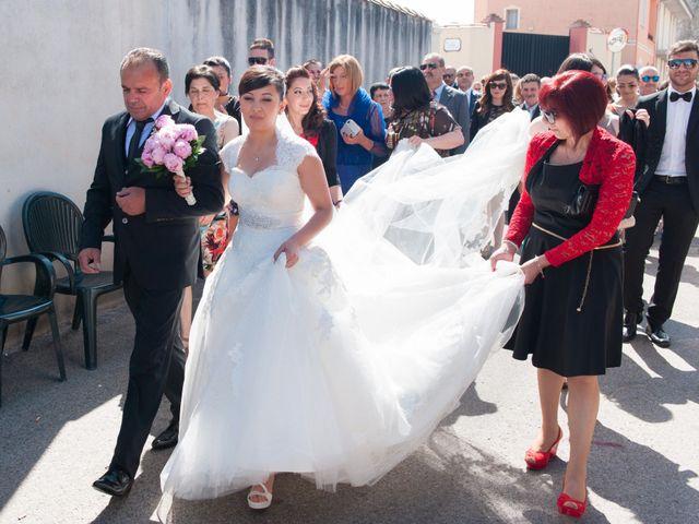 Il matrimonio di Vanessa e Mirko a Oristano, Oristano 21