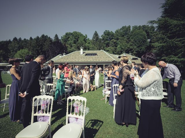 Il matrimonio di Luca e Sara a Besozzo, Varese 39